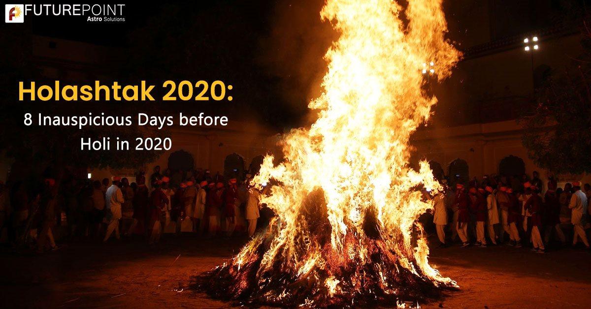 Holashtak 2020: 8 Inauspicious Days before Holi in 2020