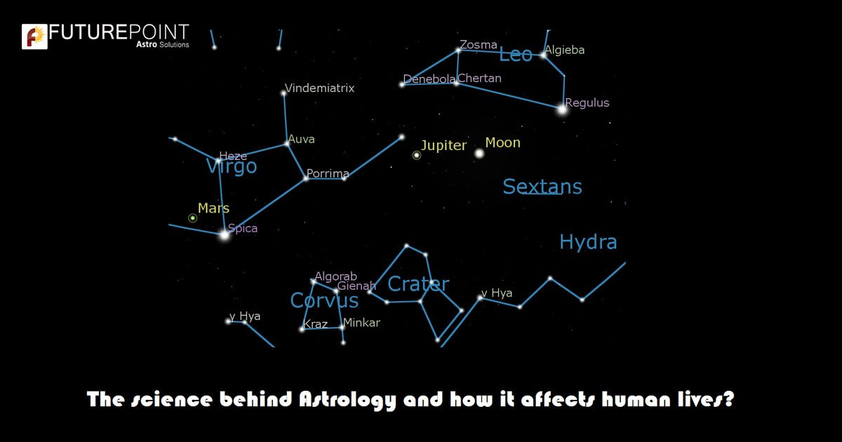 The science behind Astrology and how it affects human lives?