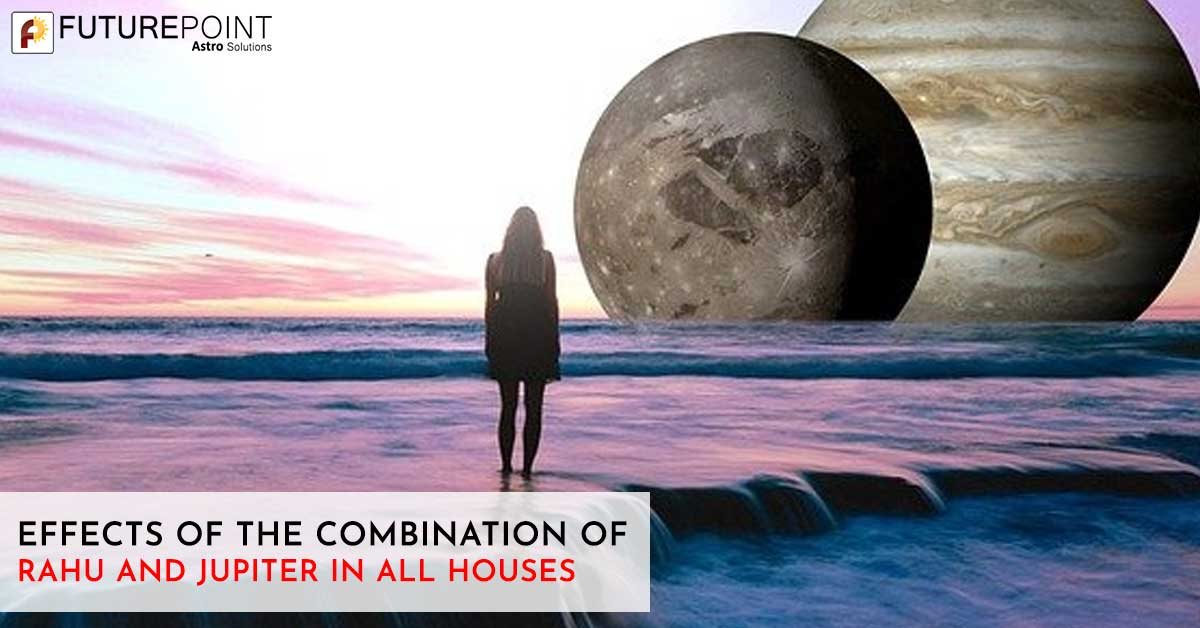 Effects of the Combination of Rahu and Jupiter in All Houses