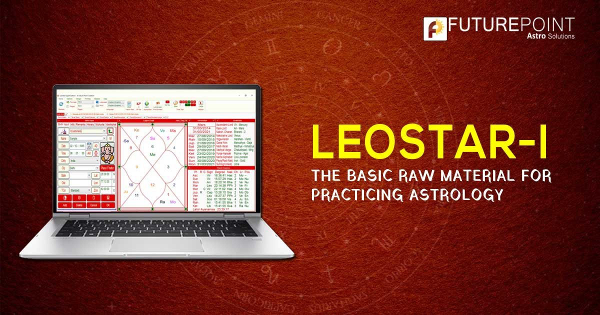 LeoStar-I: The basic raw material for practicing astrology