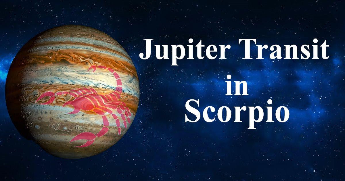 Jupiter Transit: Journey from Scorpio to Sagittarius and back again.