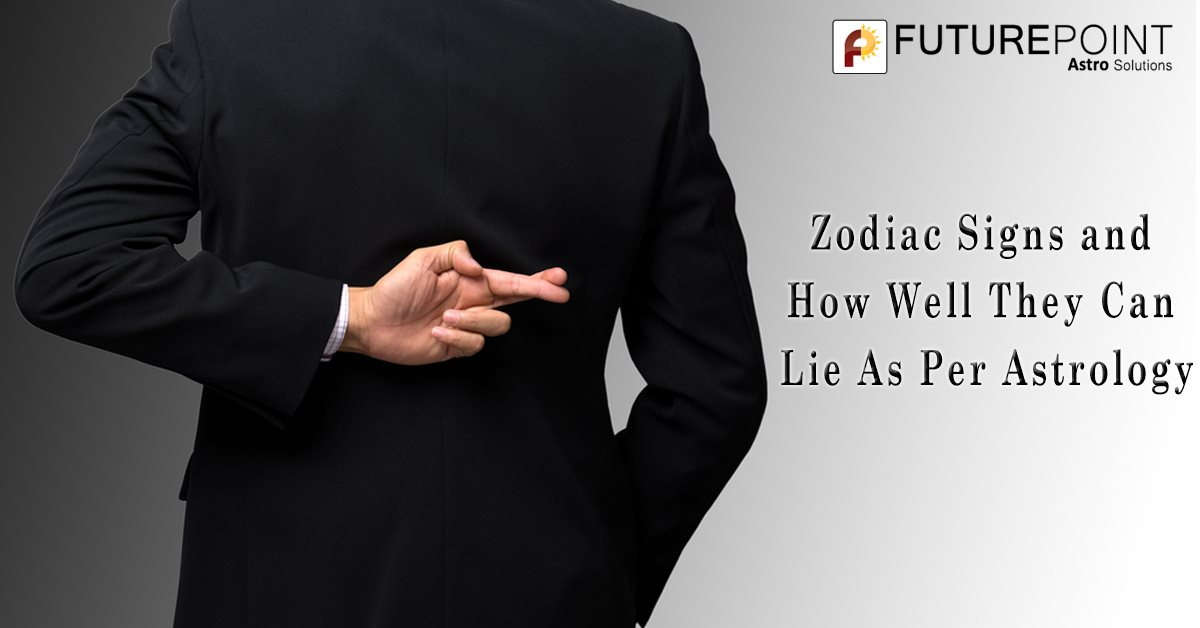 Zodiac Signs and How Well They Can Lie As Per Astrology
