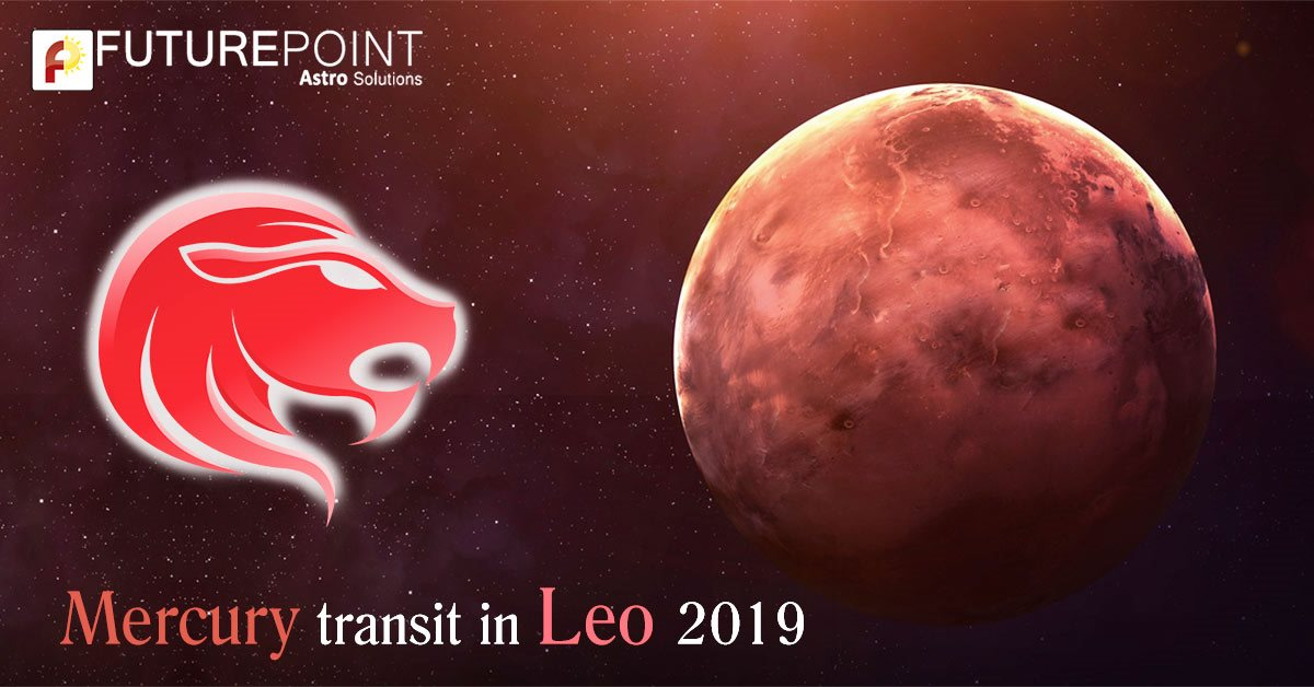 Mercury Transit in Leo (26 August 2019)