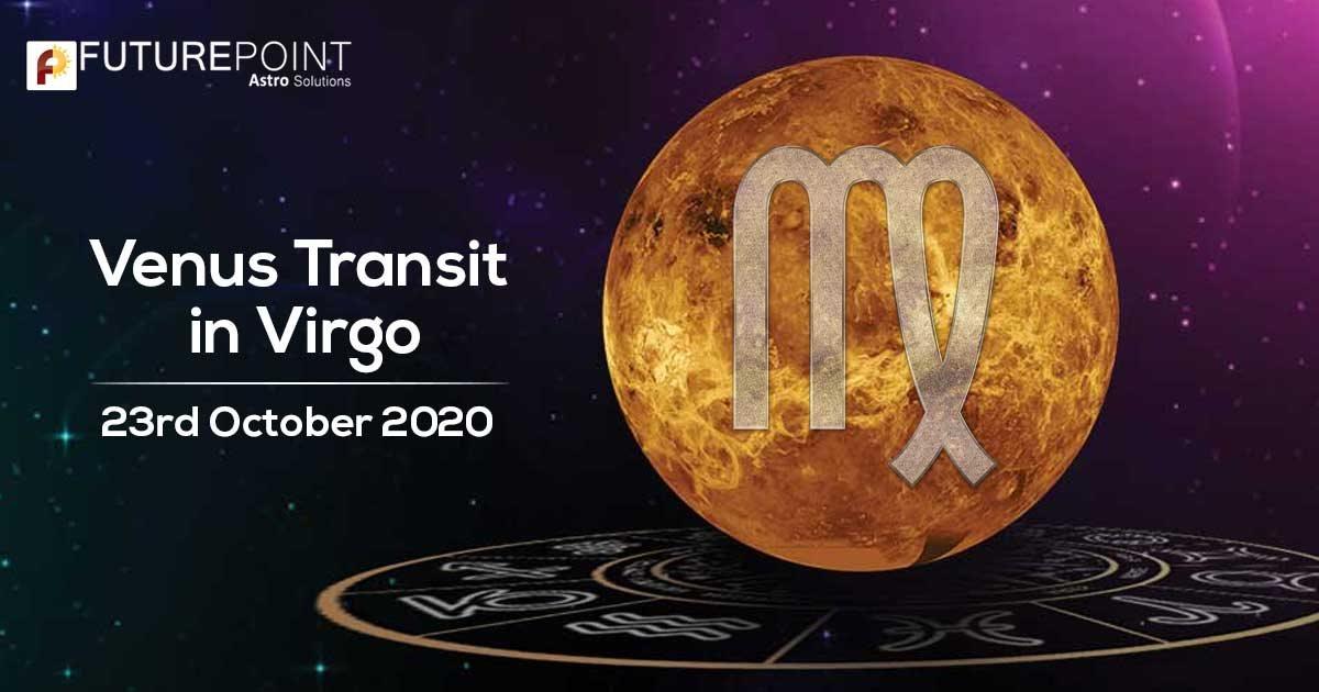 Venus Transit in Virgo 23rd October 2020