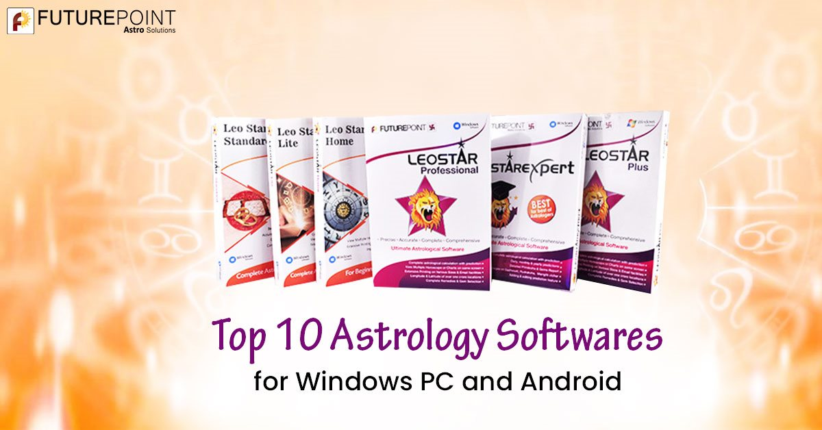 Top 10 Astrology Softwares for Windows PC and Android