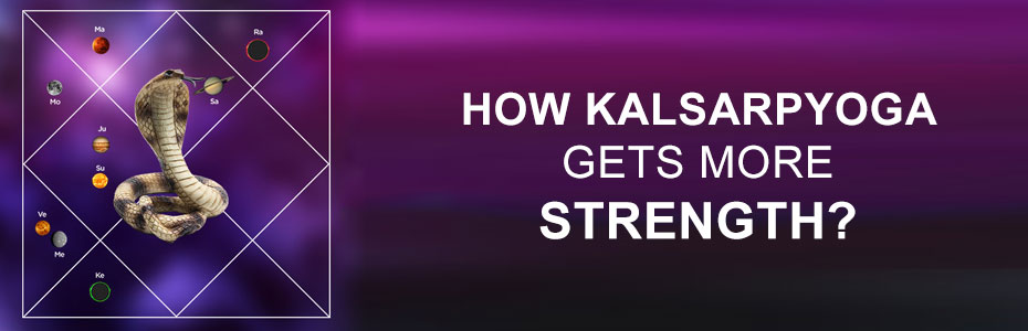 How Kalsarpa yoga gets more strength?