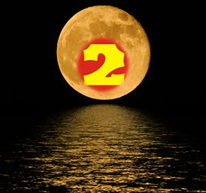 Lucky Number 2 Moon