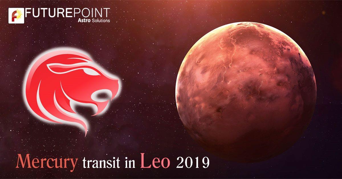Mercury Transit in Leo (26 August 2019)