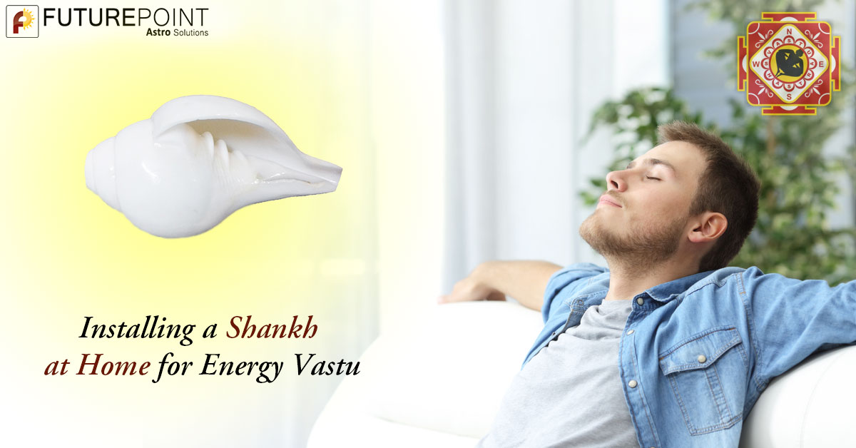 Installing a Shankh at Home for Energy Vastu