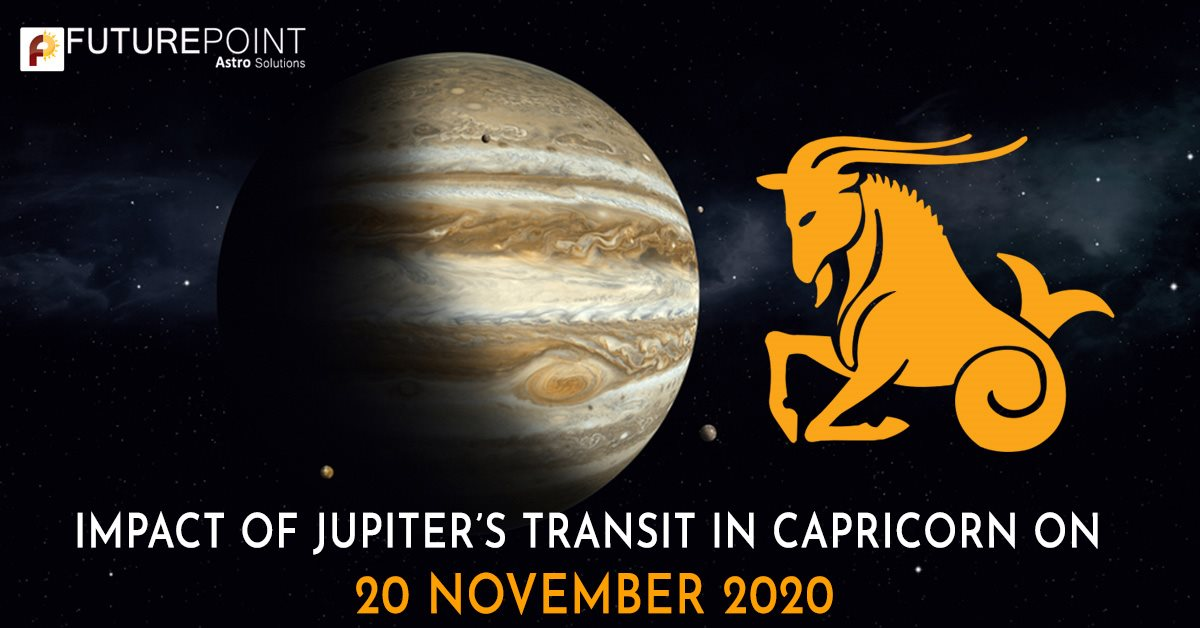 Impact of Jupiter's Transit in Capricorn on 20 November 2020