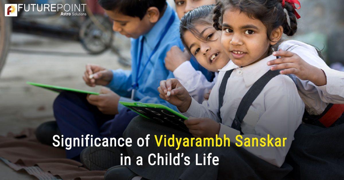 Significance of Vidyarambh Sanskar in a Child's Life