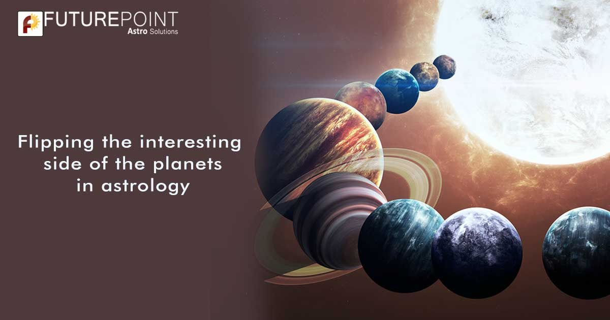 Flipping the interesting side of the planets in astrology
