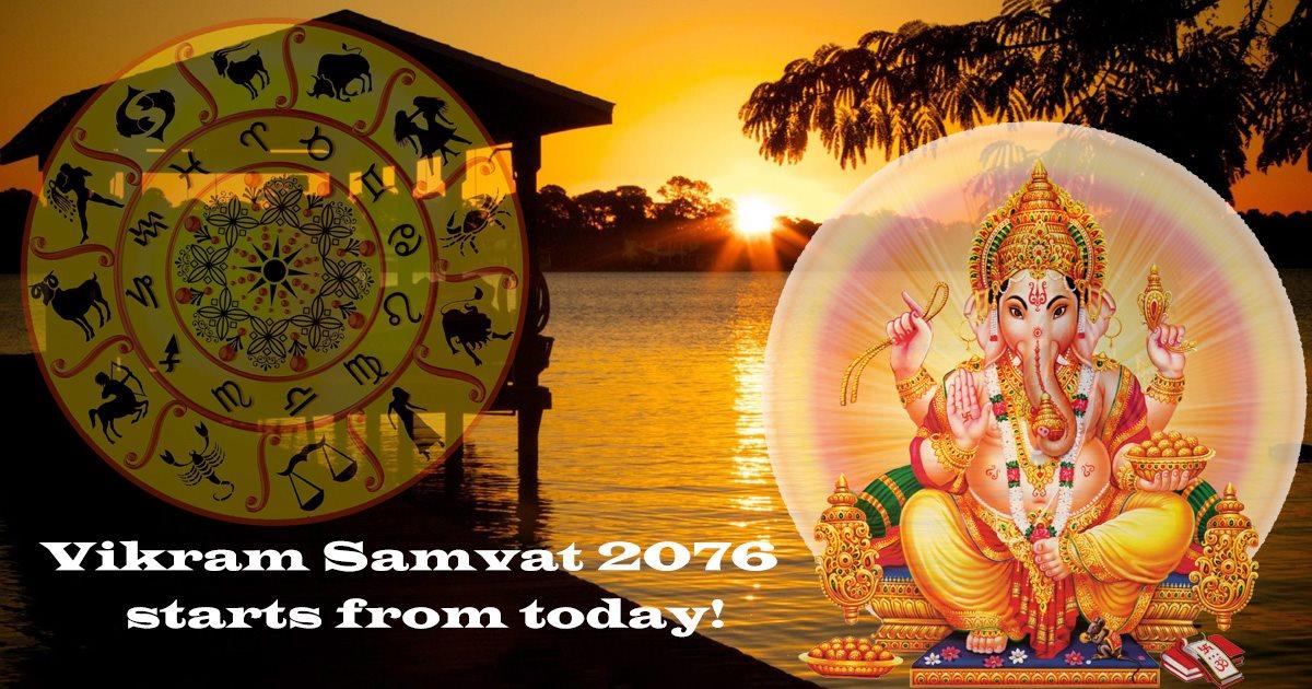 Vikram Samvat 2076 starts from today!