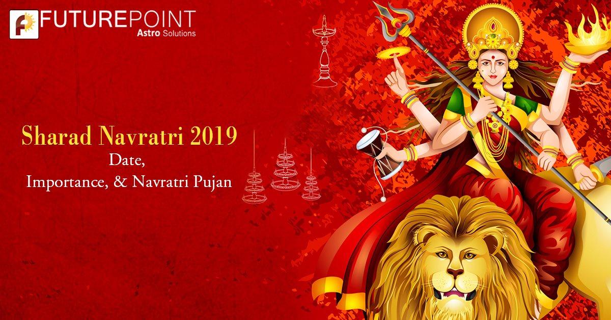 Sharad Navratri 2019: Date, Importance, & Navratri Pujan