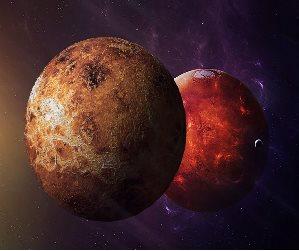 Venus versus Mars