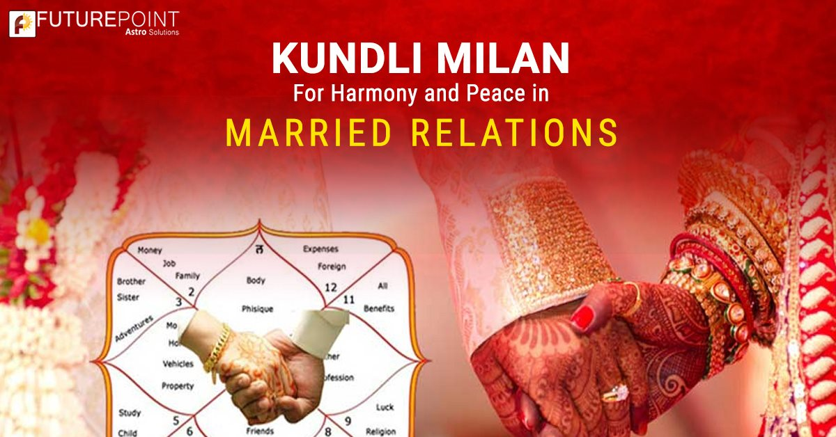 Kundli Milan- For Harmony and Peace in Married Relations