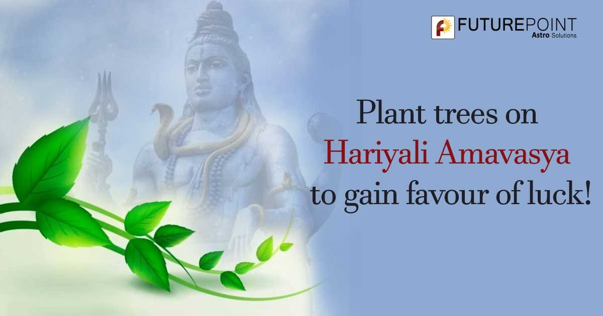Plant trees on Hariyali Amavasya to gain favour of luck!