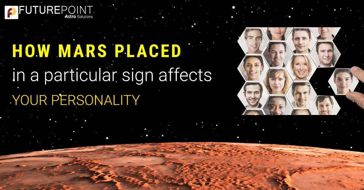 How Mars placed in a particular sign affects your personality