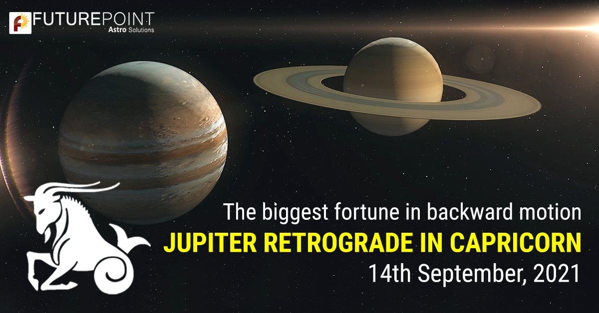 Jupiter Retrograde in Capricorn in 14th September, 2021 : The Biggest Fortune in Backward Motion