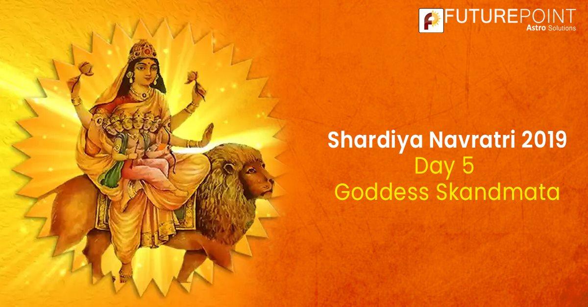Shardiya Navratri 2019 Day 5: Goddess Skandmata