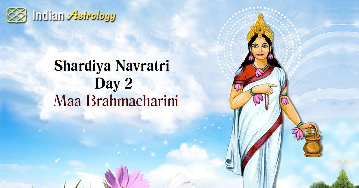 Shardiya Navratri Day 2: Maa Brahmacharini