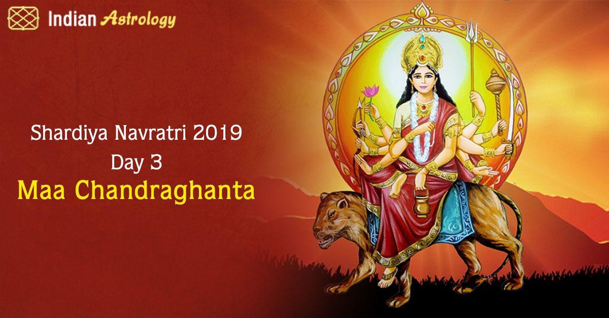 Shardiya Navratri 2019: Day 3 of Maa Chandraghanta