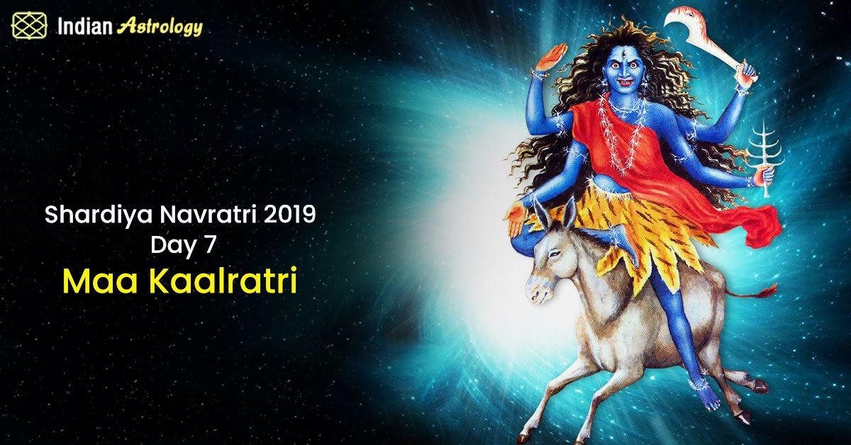 Shardiya Navratri 2019 Day 7: Maa Kaalratri
