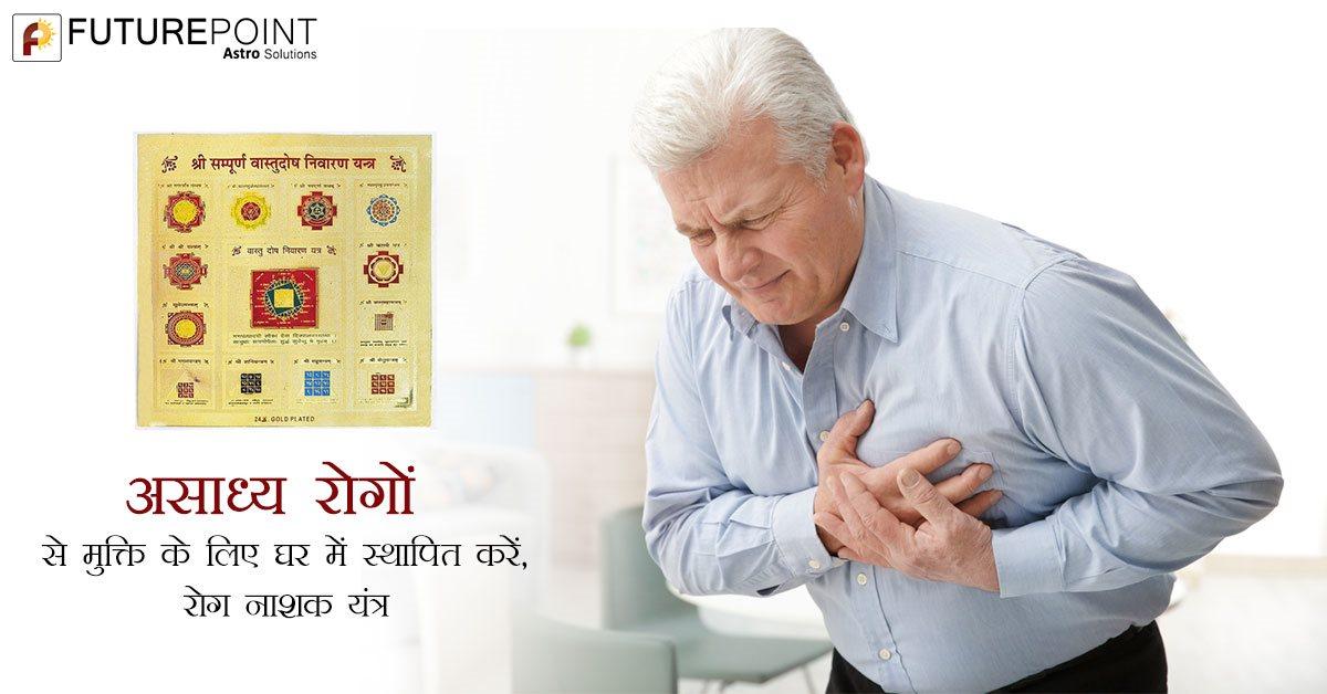 असाध्य रोगों से मुक्ति के लिए घर में स्थापित करें, रोग नाशक यंत्र