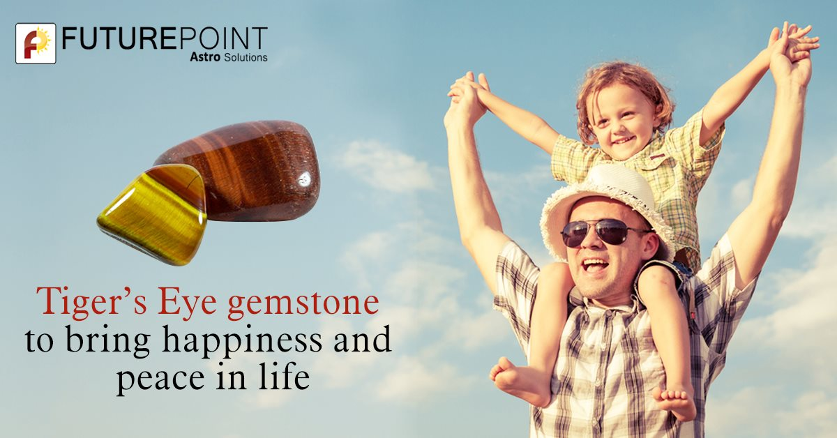 Tiger's Eye gemstone to bring happiness and peace in life