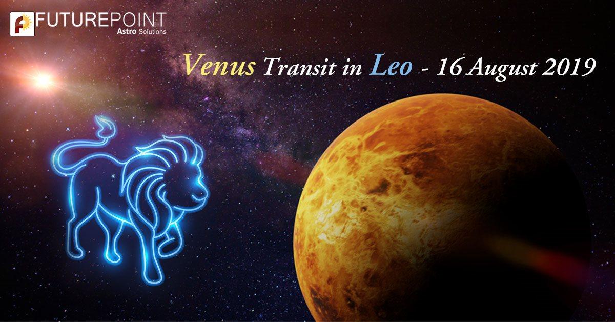 Venus Transit in Leo - 16 August 2019