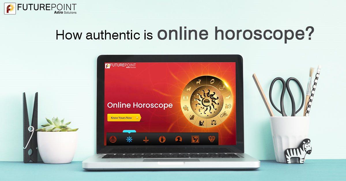 How authentic is online horoscope?