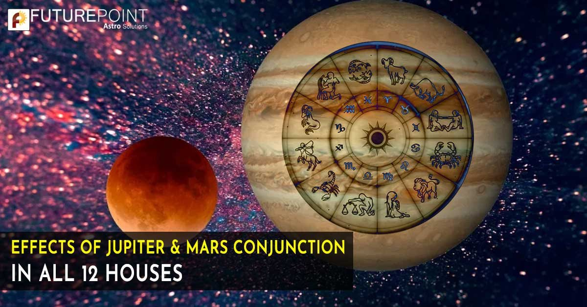 Effects of Jupiter & Mars Conjunction in All 12 Houses