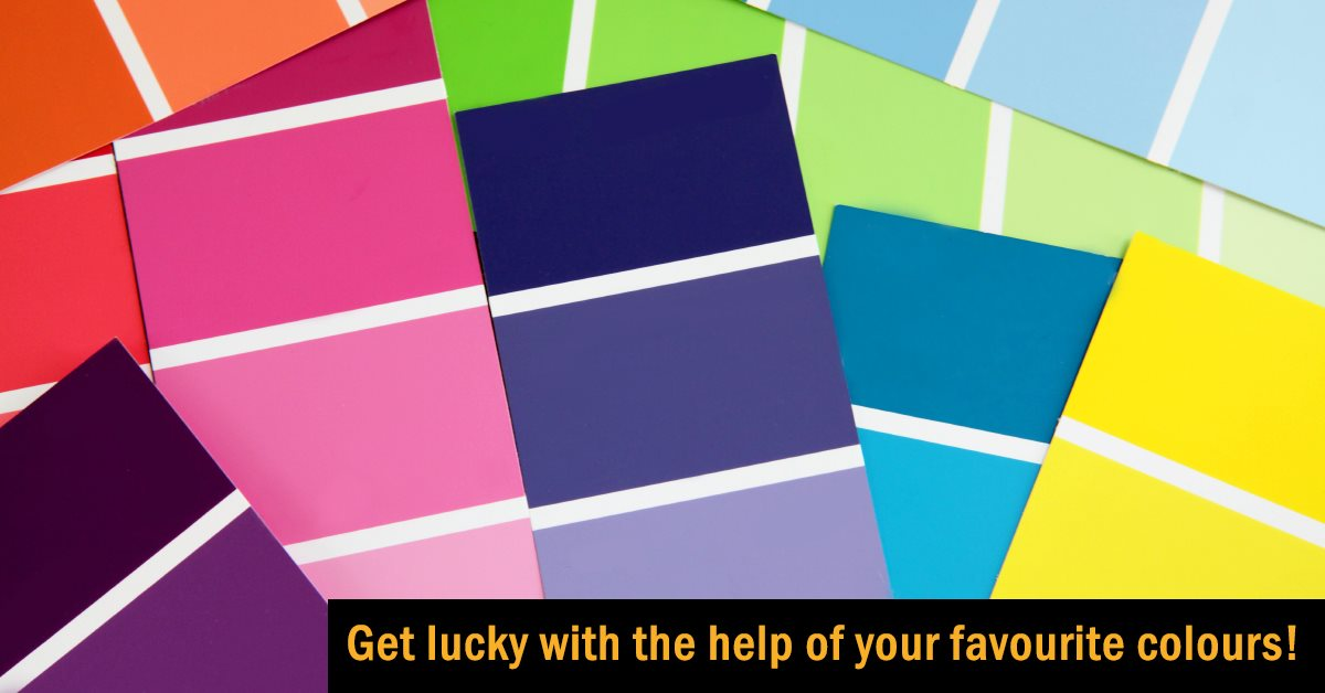 Get lucky with the help of your favourite colours!