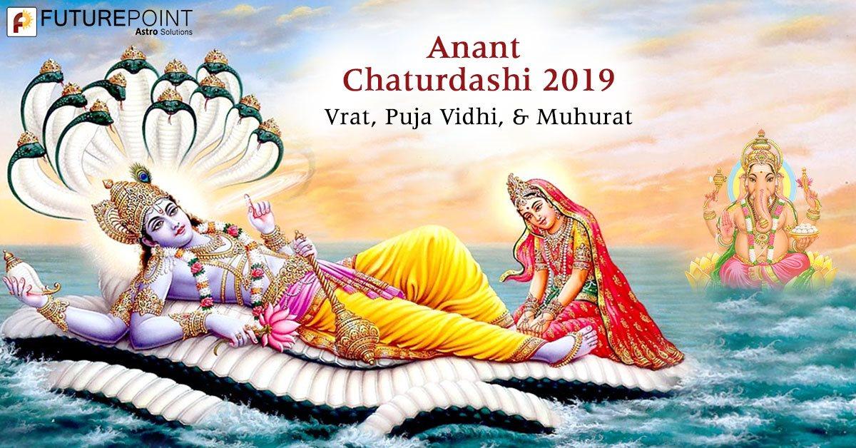 Anant Chaturdashi 2019: Vrat, Puja Vidhi, & Muhurat
