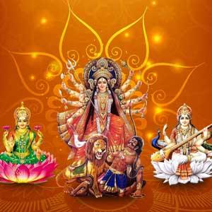 नवरात्रे पर्व २०१२ मां दुर्गा के नौ रूपों का पूजन पर्व