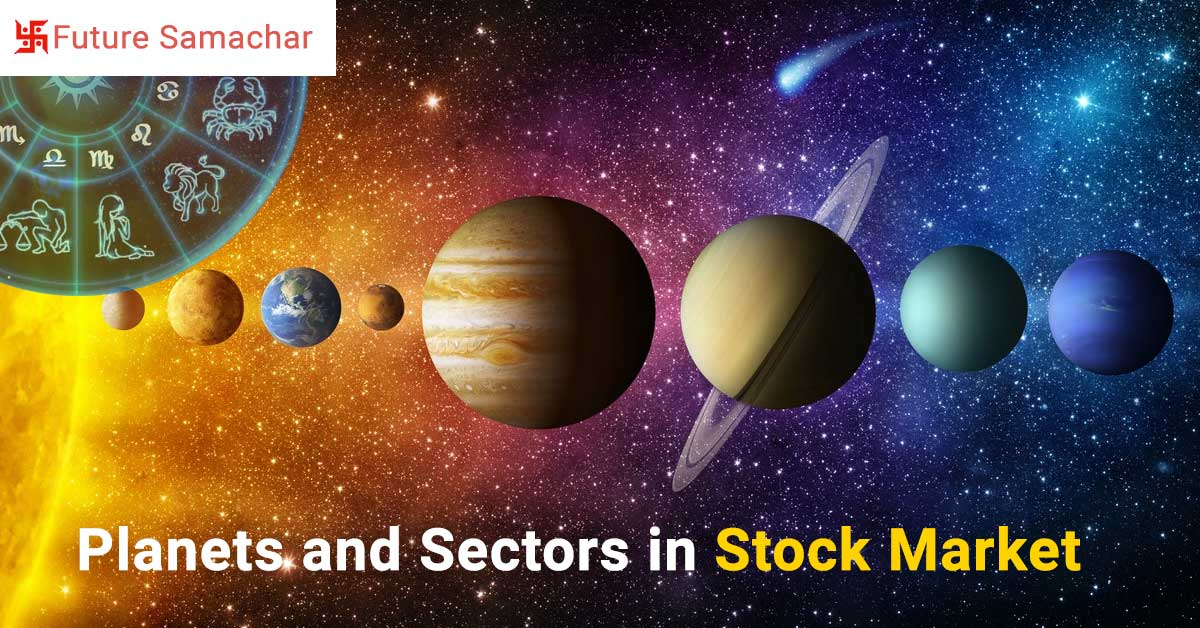 Planets and Sectors in Stock Market