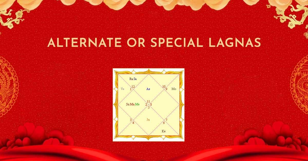 Alternate or Special Lagnas