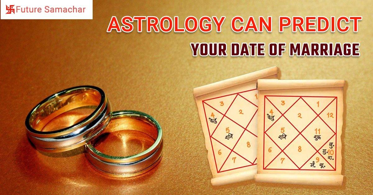 Astrology can Predict your date of Marriage